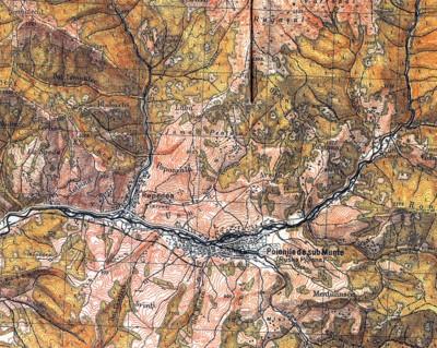 Картографія Карпат на фоні великої політики