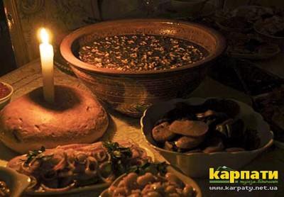 Великий святвечірній стіл